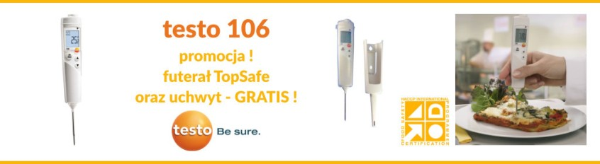 PROMOCJA wakacyjna - termometr TESTO 106